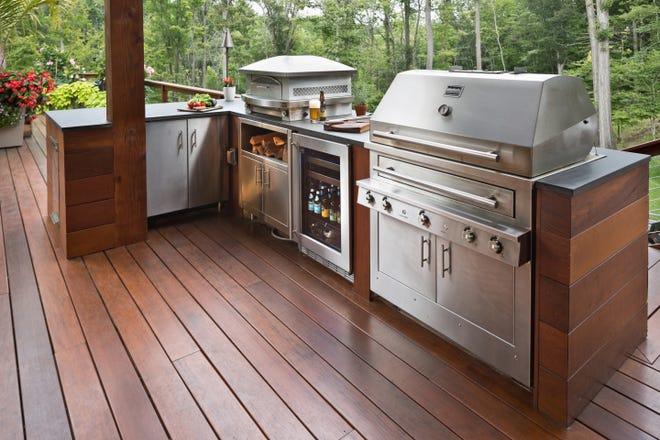 backyard kitchen desi