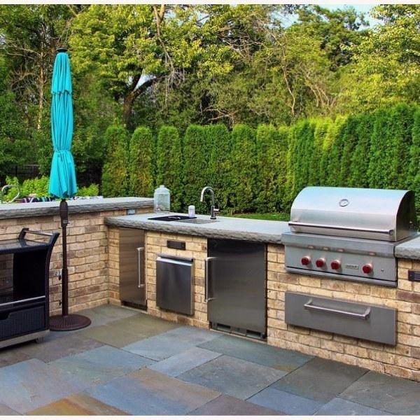 Top 60 Best Outdoor Kitchen Ideas - Chef Inspired Backyard Desig