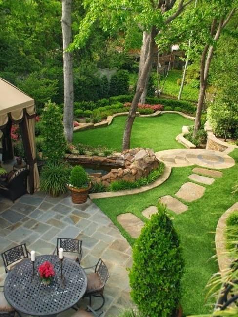 25 Inspiring Backyard Ideas and Fabulous Landscaping Desig