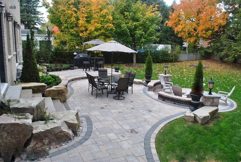 Backyard Landscaping - Whitby, ON - Photo Gallery - Landscaping .