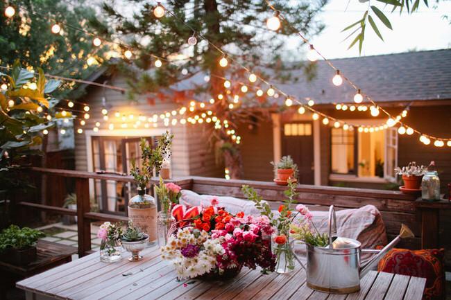 12 Inspiring Backyard Lighting Ideas | The Garden Glo