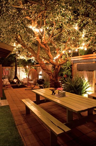 12 Inspiring Backyard Lighting Ideas | Backyard, Backyard lighting .