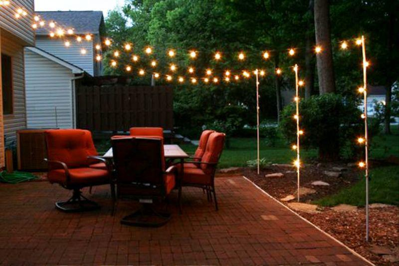 Decorative Backyard Lighting Ideas — Jayne Atkinson HomesJayne .