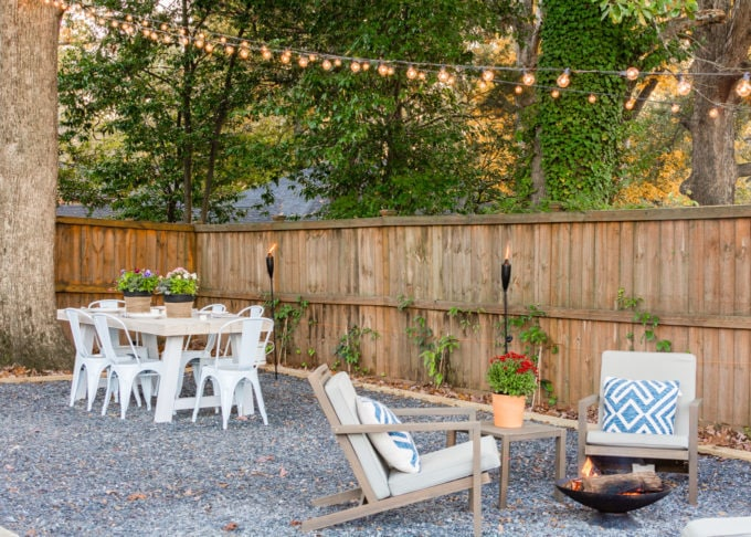 Backyard Patio Design Reveal + Ideas | Root + Revel | Healthy .