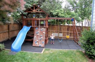 Safe-Play Tiles | Kids backyard playground, Diy playground .