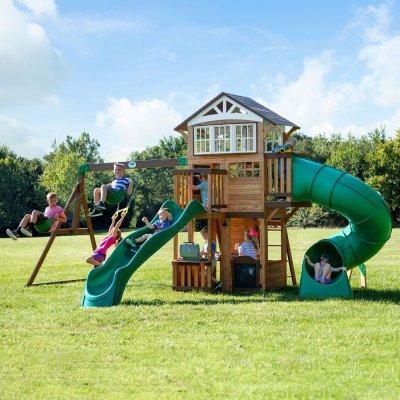 Backyard Discovery Bristol Point Cedar Swing Set/Playset - Sam's Cl