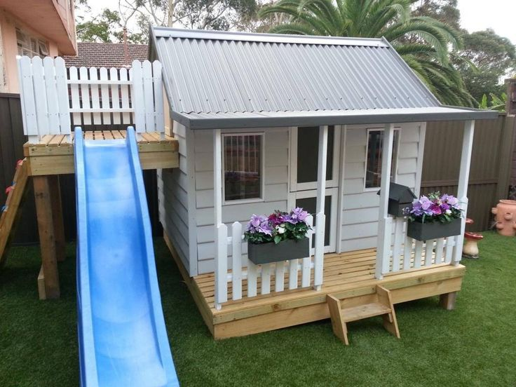 15 Pimped Out Playhouses Your Kids Need In The Backya