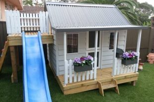 15 Pimped Out Playhouses Your Kids Need In The Backyard | Backyard .