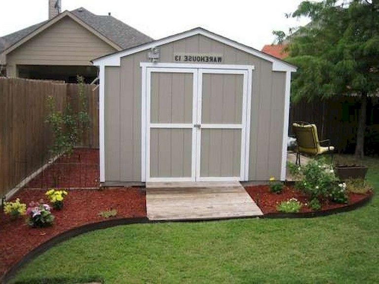 67 NEW BACKYARD LANDSCAPING DESIGN IDEAS ON A BUDGET | Shed .