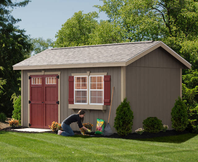 So you want to add a backyard shed. Here's how you get there .