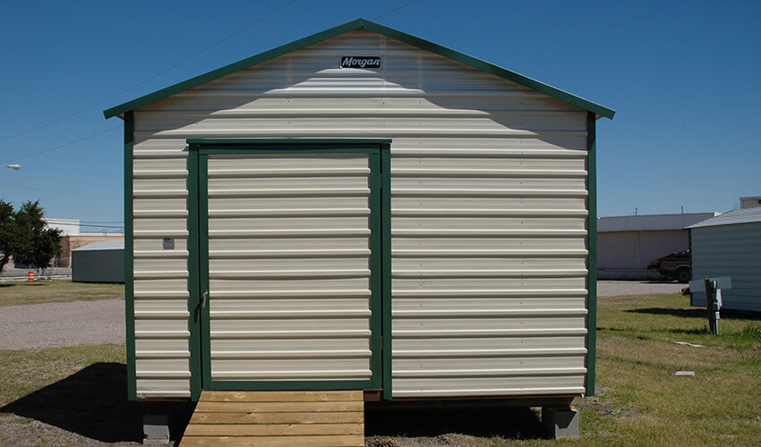 Custom Built Backyard Storage - 61 Years Experience   Morgan Buildin