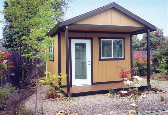 Rosie on the House: Backyard storage sheds can provide nice touch .