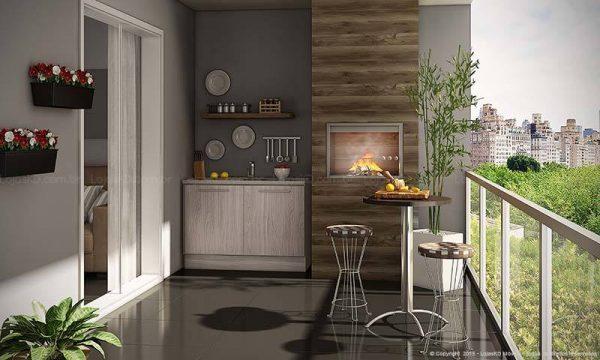 Kitchen - balcony design ideas - Little Piece Of