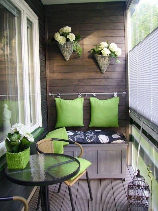 25 Best Small Balcony Design Ideas | Small porch decorating, Small .