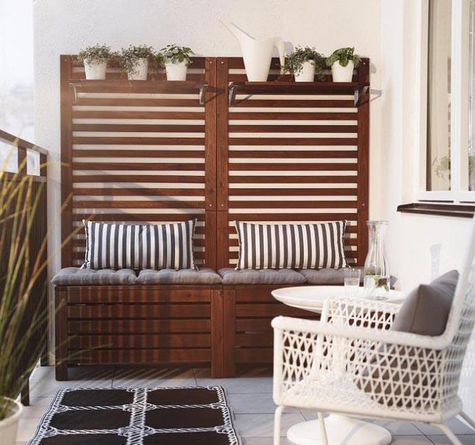 Balcony Furniture Ide