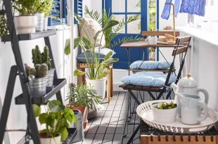 Best Balcony Furniture For Small Spac