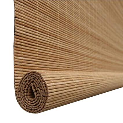 Amazon.com: CHAXIA Roller Blind Bamboo Shade Cut Off Anti-Sun .