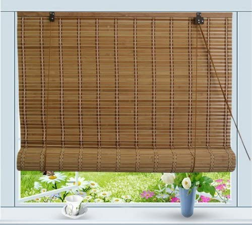 Amazon.com: Thy Trading Bamboo Roll Up Window Blind Sun Shade W24 .