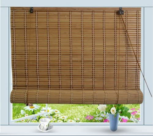 "Amazon.com: Bamboo Roll Up Window Blind Sun Shade W32"" x H72 ."