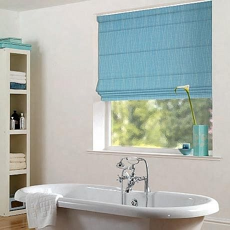 Bathroom Roman Blinds | Bathroom, Blin