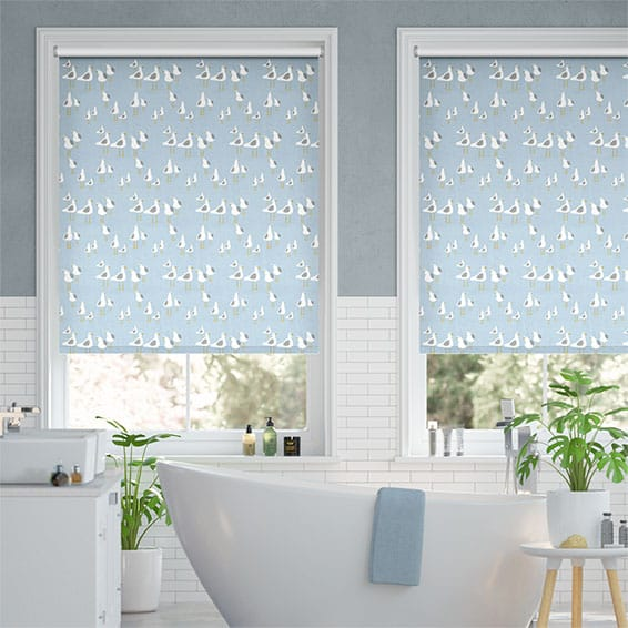 Bathroom Blinds 2go™, 100% Waterproof Roller Blinds for Your Bathro