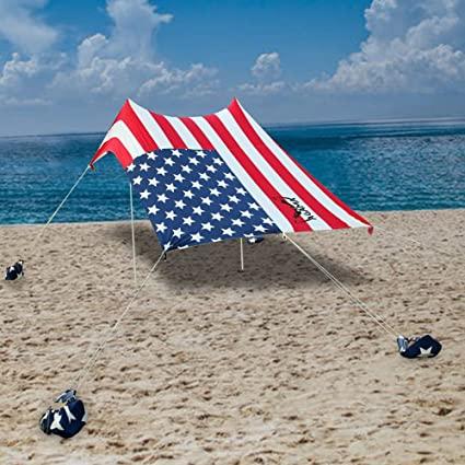 Amazon.com: Agama Beach Canopy Tent – Portable Sun Blocking Shade .