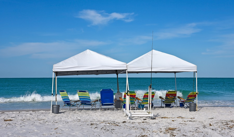 The 7 Best Beach Shade Canopies - [2020 Reviews] | Outside Pursui