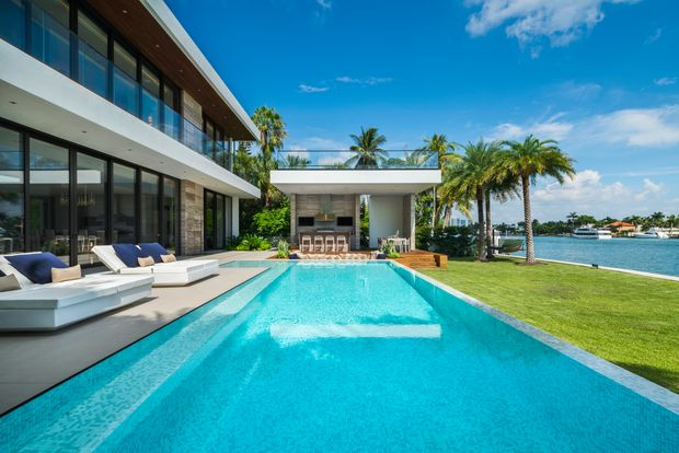Tropical Modern Miami Beach Adobe Hits Market for $23.5M - Barron