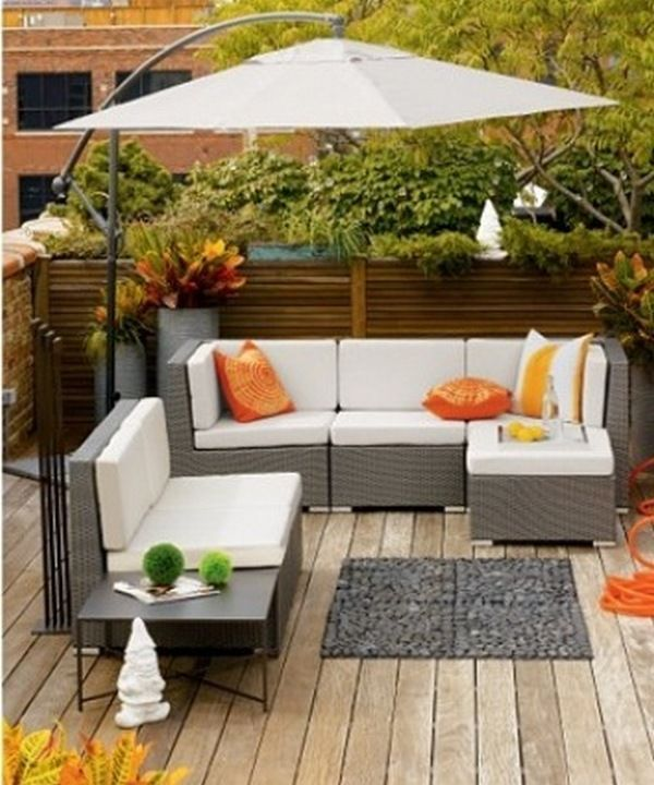 Beautiful patio / deck furniture - get this look CLICK HERE .