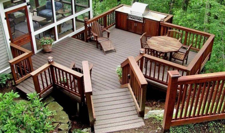 20 Beautiful Wooden Deck Ideas For Your Ho