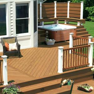 Backyard Deck Pictures Wood Beautiful Patio And Ideas Small Decks .