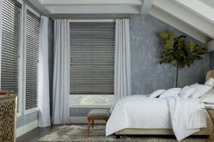 Top Bedroom Window Treatment Ideas   Hunter Dougl