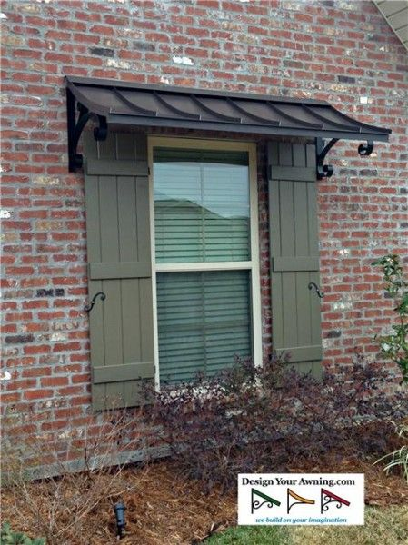 Best Concave Copper Window Awning | House awnings, Outdoor window .
