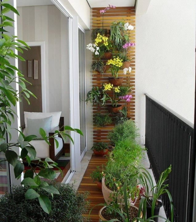 25 Best Small Balcony Design Ideas | Small balcony garden, Small .