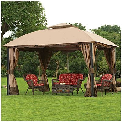 Wilson & Fisher® 11' x 13' South Hampton Gazebo at Big Lots .