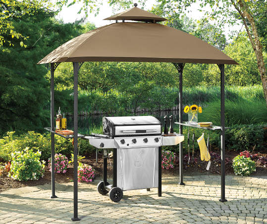 Wilson & Fisher Windsor Grill Gazebo, (8' x 5') | Big Lo