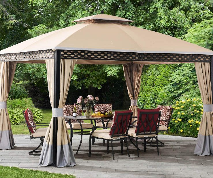 Wilson & Fisher Oakmont Domed Gazebo, (10' x 12') | Patio, Gazebo .