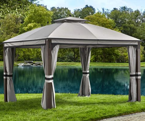 Shadow Creek Gazebo, (10' x 12') at Big Lots. | Gazebo, Privacy .