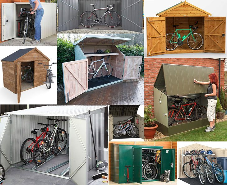 Bike Storage Sheds: Secure, Practical and Weatherproof | The Best .