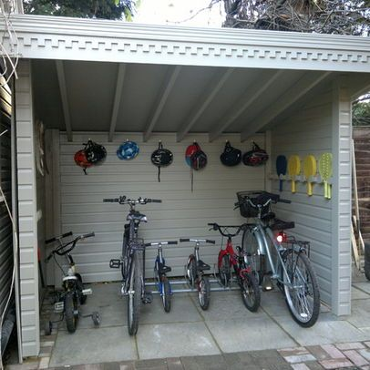 BIKE SHED Design, Pictures, Remodel, Decor and Ideas - page 2 .