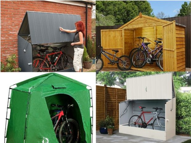 11 Best Outdoor Bike Storage Sheds For Your Backyard - Things I Desi