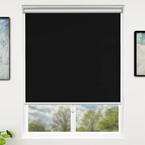 Amazon.com: SUNFREE Blackout Window Shades Cordless Window Blinds .