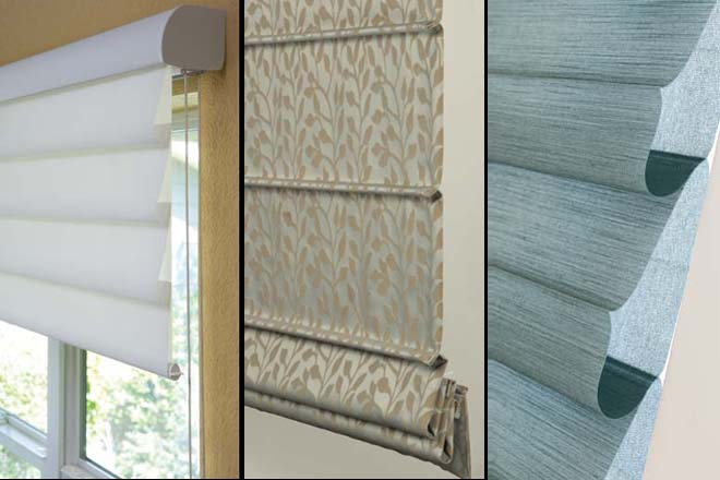 Roman-Shades - Blinds and Desig