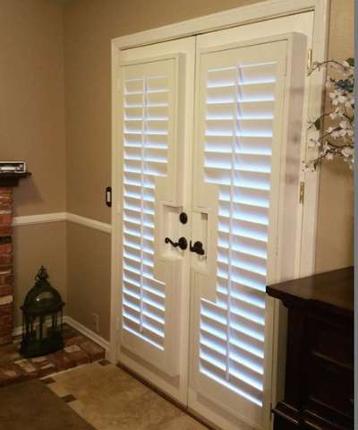 Plantation Shutters for French Doors - Free Consultati