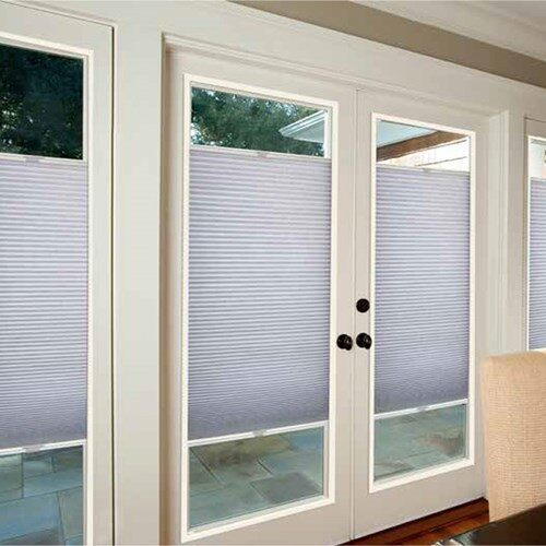 French Door Light Filtering Shades | Blinds.c