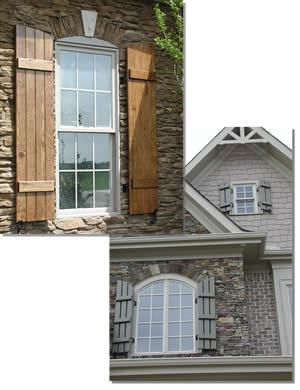 Board and Batten Shutters Custom Board and Batten Window Shutters .