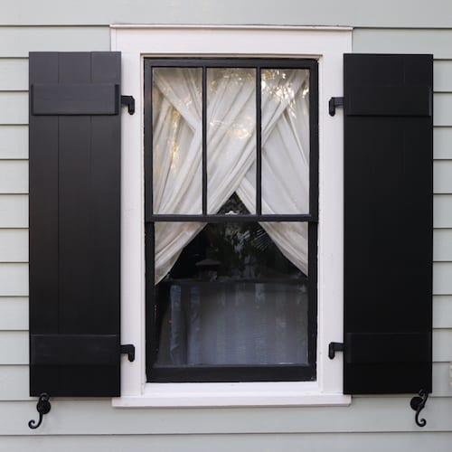 How To: Make Board and Batten Shutters   The Craftsman Bl