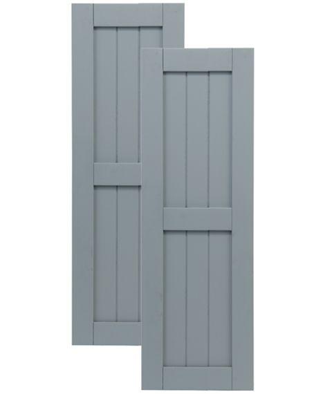 Exterior Solutions - Traditional Composite Framed Board-n-Batten .