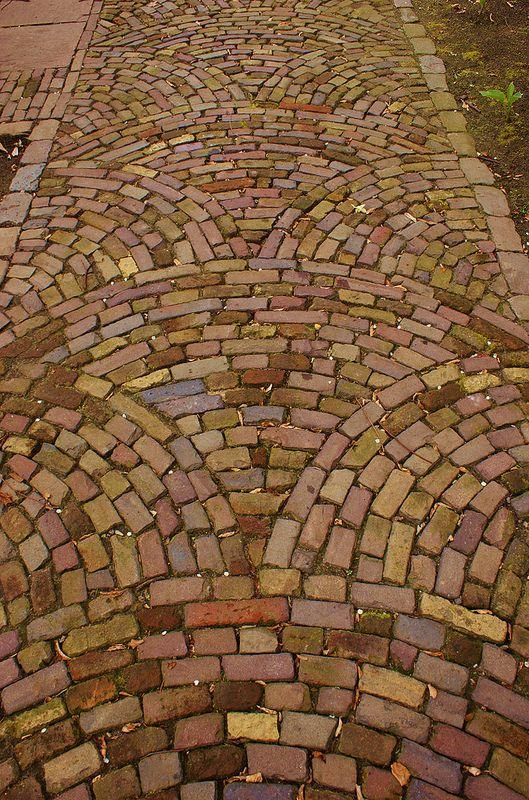 Brick paving patterns | Brick paving, Paving pattern, Brick pathw