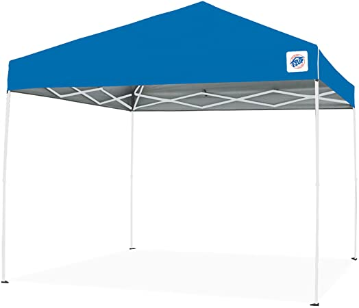Amazon.com : E-Z UP ENV9104BL Envoy pop up Canopy Tent, 10x10 .